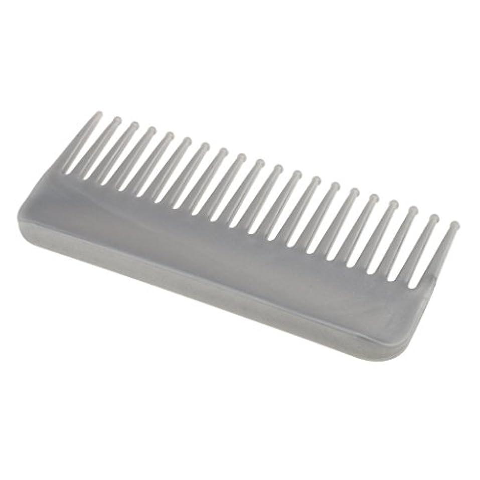 天皇別々に影響力のあるCUTICATE プラスチック製の絡みのない広い歯のヘアブラシサロンヘアケアマッサージツール