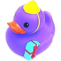 Rubber Ducky~ Purple Birthday by Infantino [並行輸入品]
