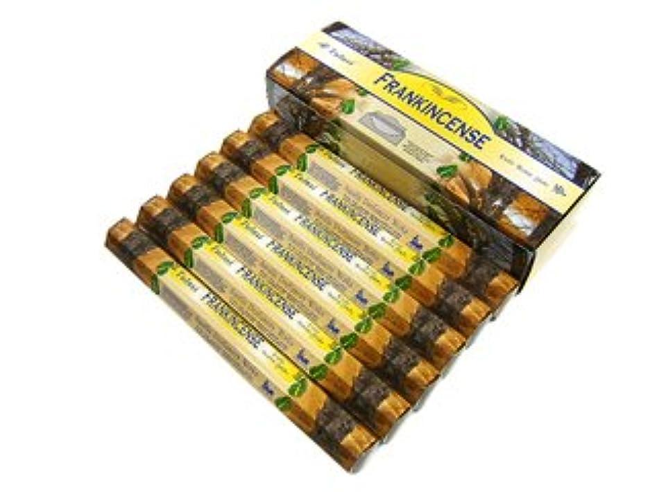 潜む葉っぱ感染するTULASI(トゥラシ) フランクインセンス香 スティック FRANKINCENSE 6箱セット