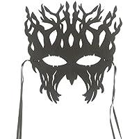 skyllc 面白いハーフフェイスマスクツリーの形のマスクハロウィーンのクリスマスカーニバルパーティーコスプレマスクアクセサリー