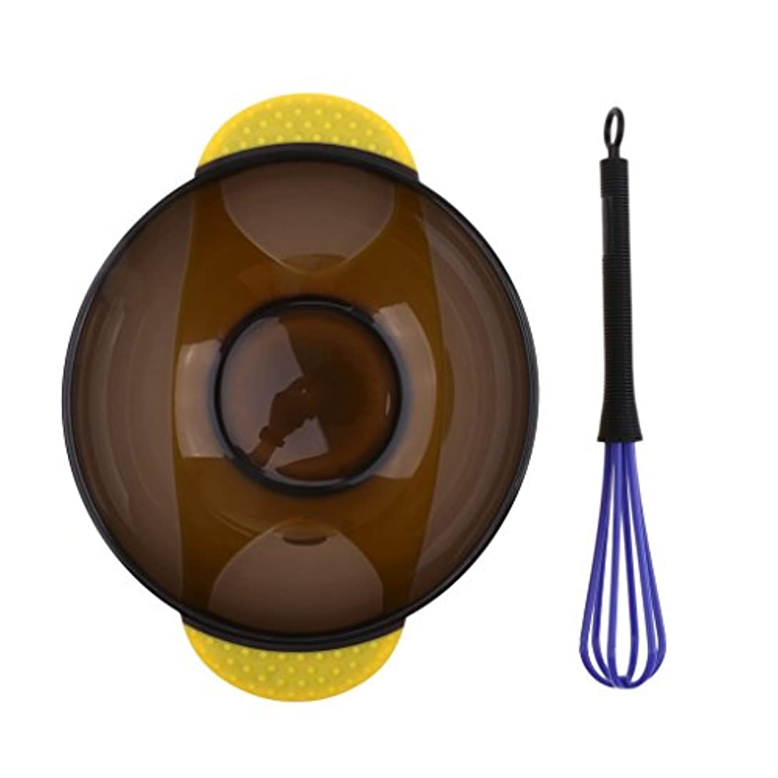ショートカット師匠歴史家CUTICATE サロン ヘアカラー ミキシングボウル 理髪美容師用 プラスチックボウル 着色ツール