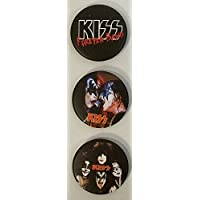KISS キッス カンバッチ 32mm E 缶バッジ