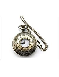 【AZwind】金の懐中時計アンティーク レトロ ゴールド クローム