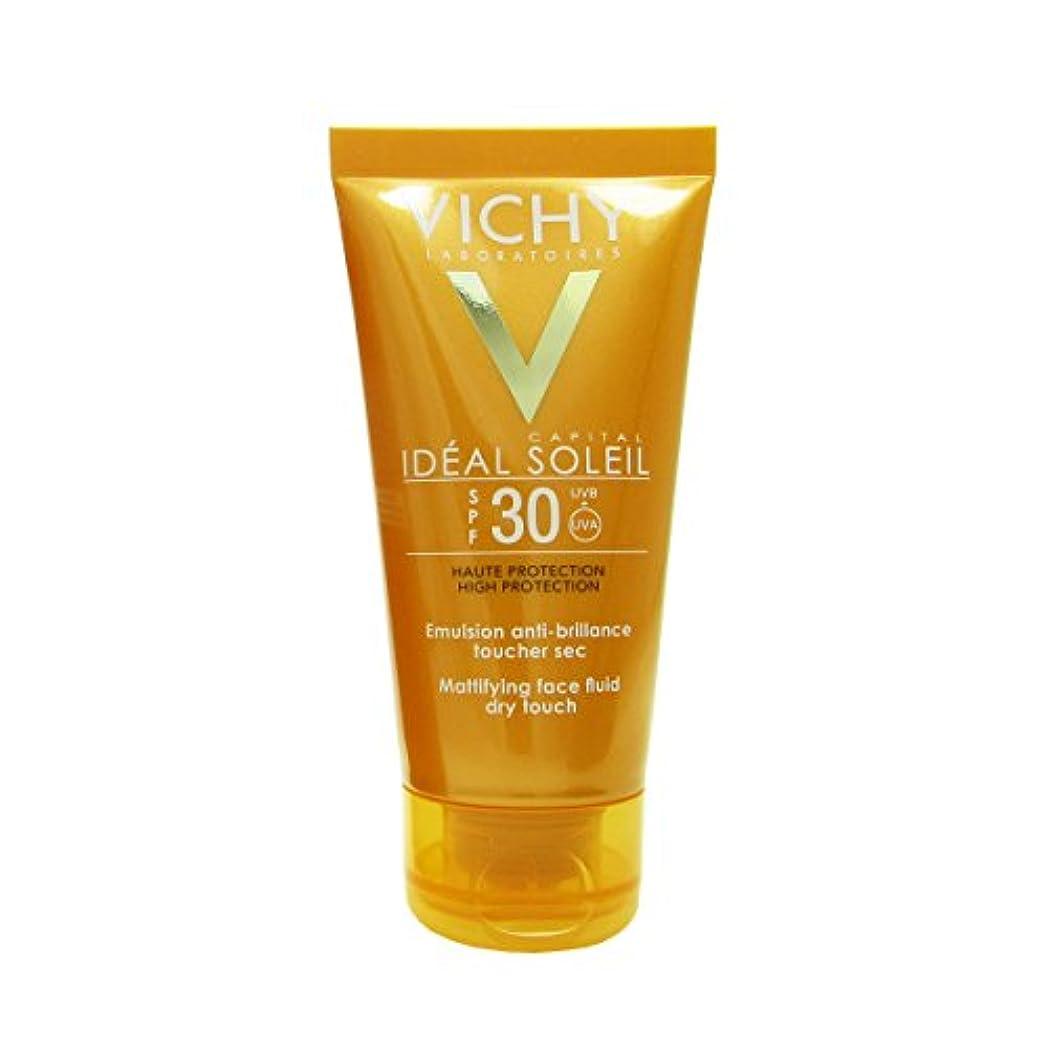 余暇出力環境Vichy Capital Soleil Ideal Soleil Spf30 Dry Touch Fluid 50ml [並行輸入品]
