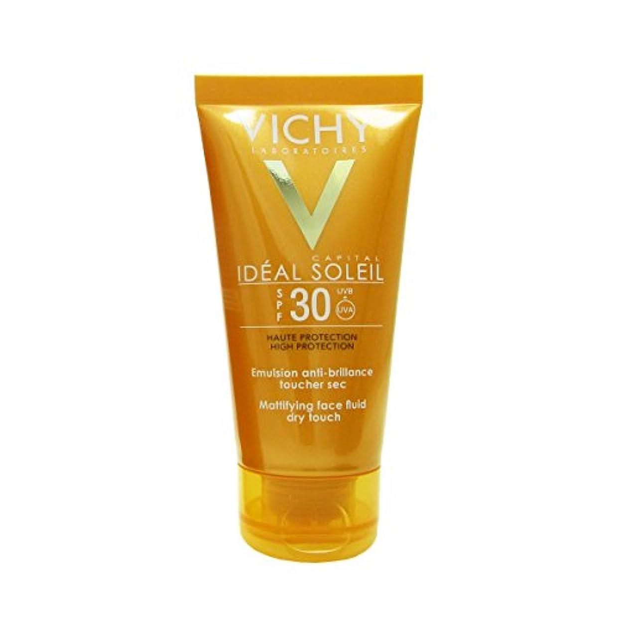 有力者欠員不良品Vichy Capital Soleil Ideal Soleil Spf30 Dry Touch Fluid 50ml [並行輸入品]