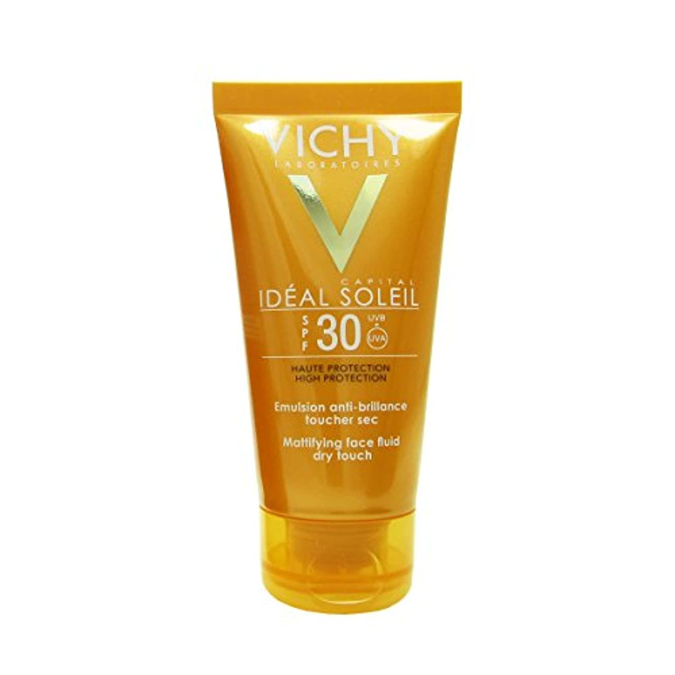 窓を洗うミニチュア大使館Vichy Capital Soleil Ideal Soleil Spf30 Dry Touch Fluid 50ml [並行輸入品]