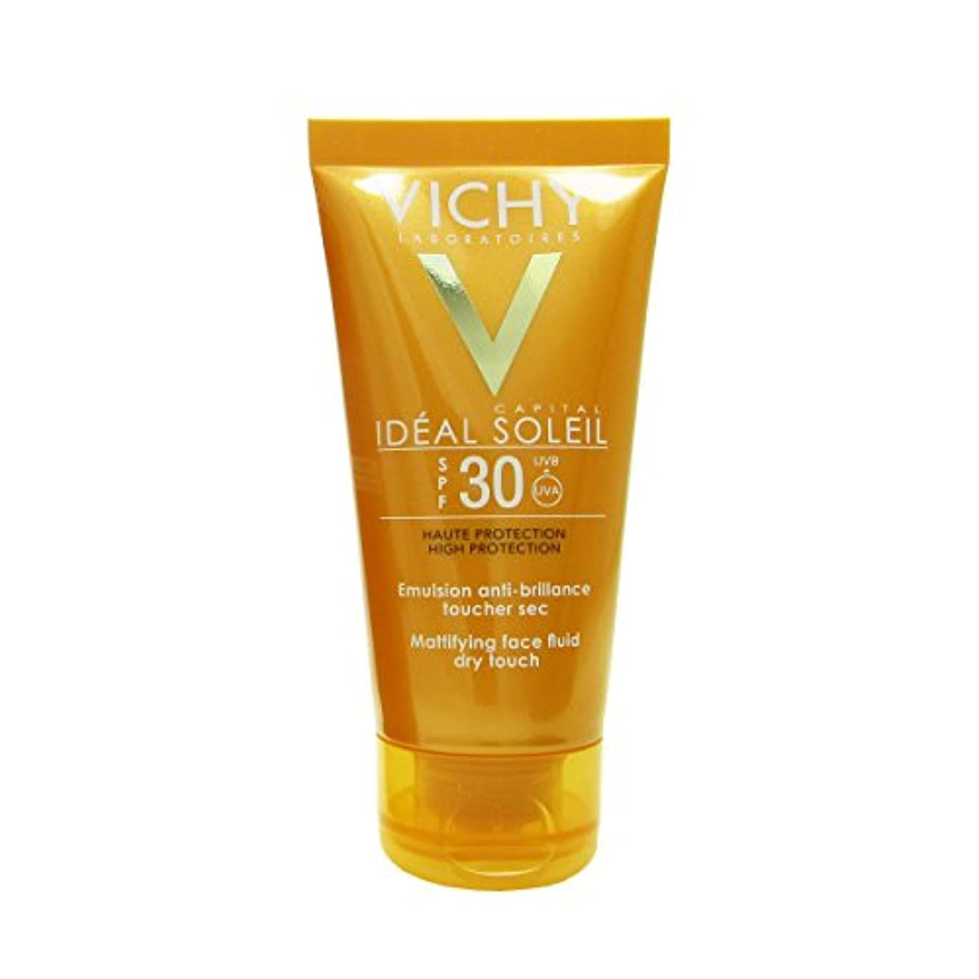 姓引退したなめらかVichy Capital Soleil Ideal Soleil Spf30 Dry Touch Fluid 50ml [並行輸入品]