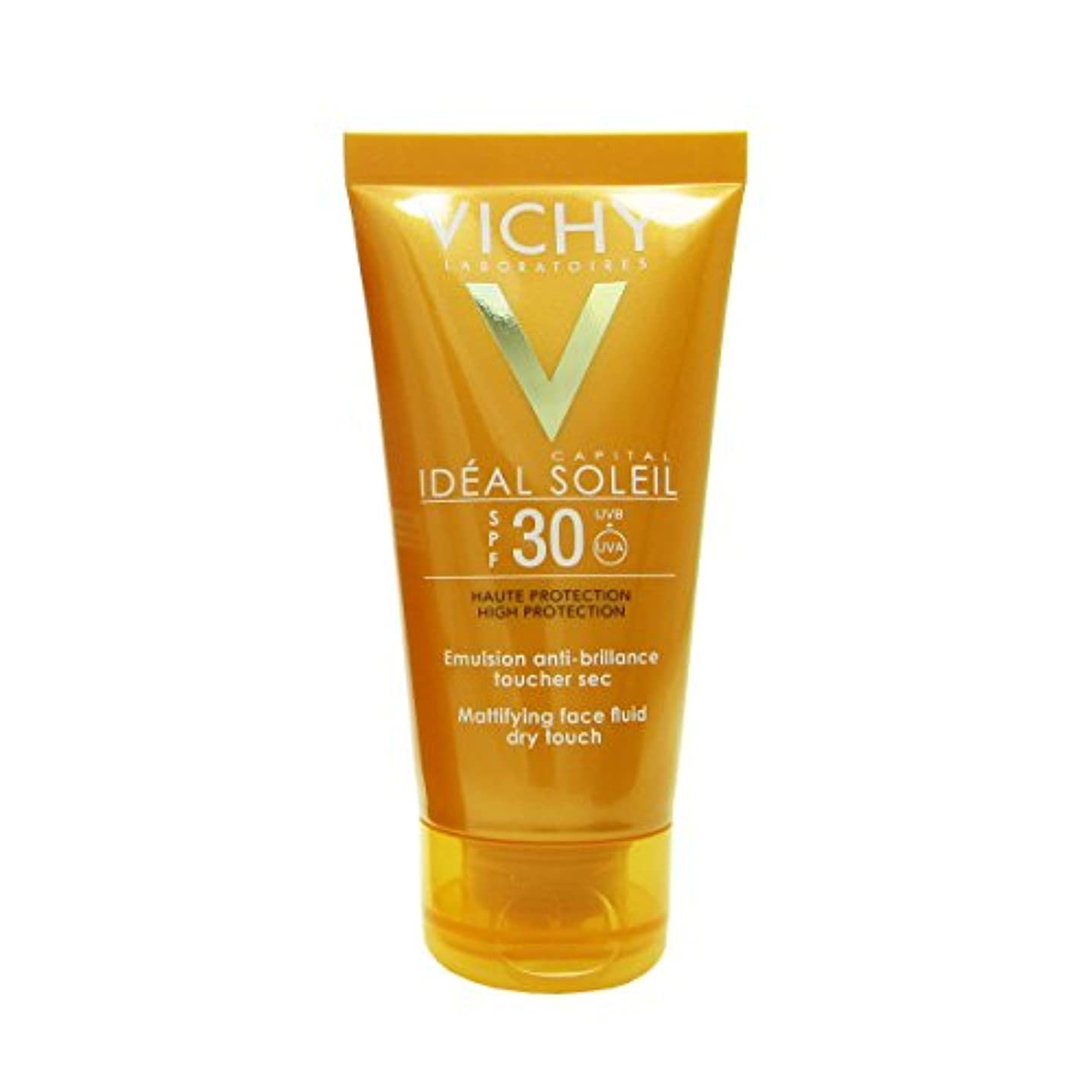 灌漑校長鎮痛剤Vichy Capital Soleil Ideal Soleil Spf30 Dry Touch Fluid 50ml [並行輸入品]