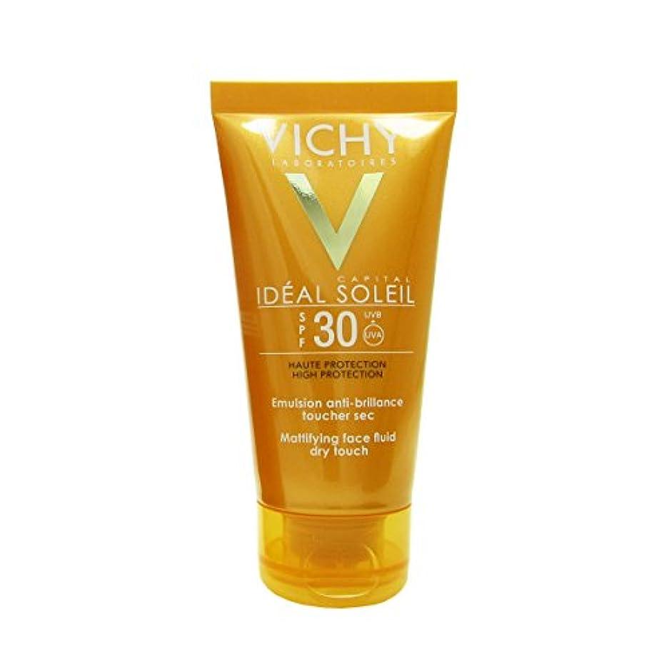 サイレント格納れんがVichy Capital Soleil Ideal Soleil Spf30 Dry Touch Fluid 50ml [並行輸入品]