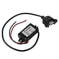 Semoic コンバーター C コンバーター 12V 24V~5V 3A USB パワーレギュレータ電圧 ステップダウン