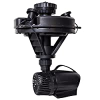 Pond Boss DFTN12003L Floating Fountain With Lights 50 Foot Power Cord 1/4 hp [並行輸入品]