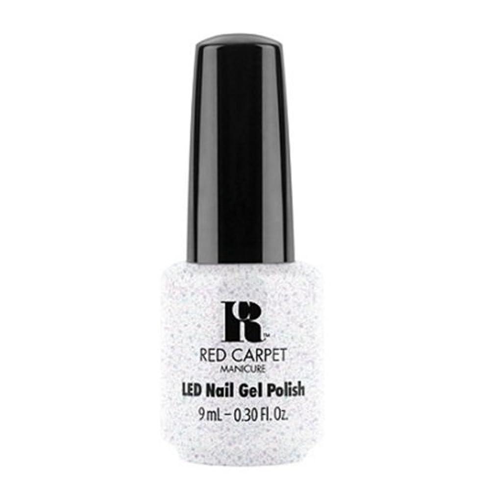 発掘ソフトウェアコンバーチブルRed Carpet Manicure - LED Nail Gel Polish - Rising Star - 0.3oz / 9ml