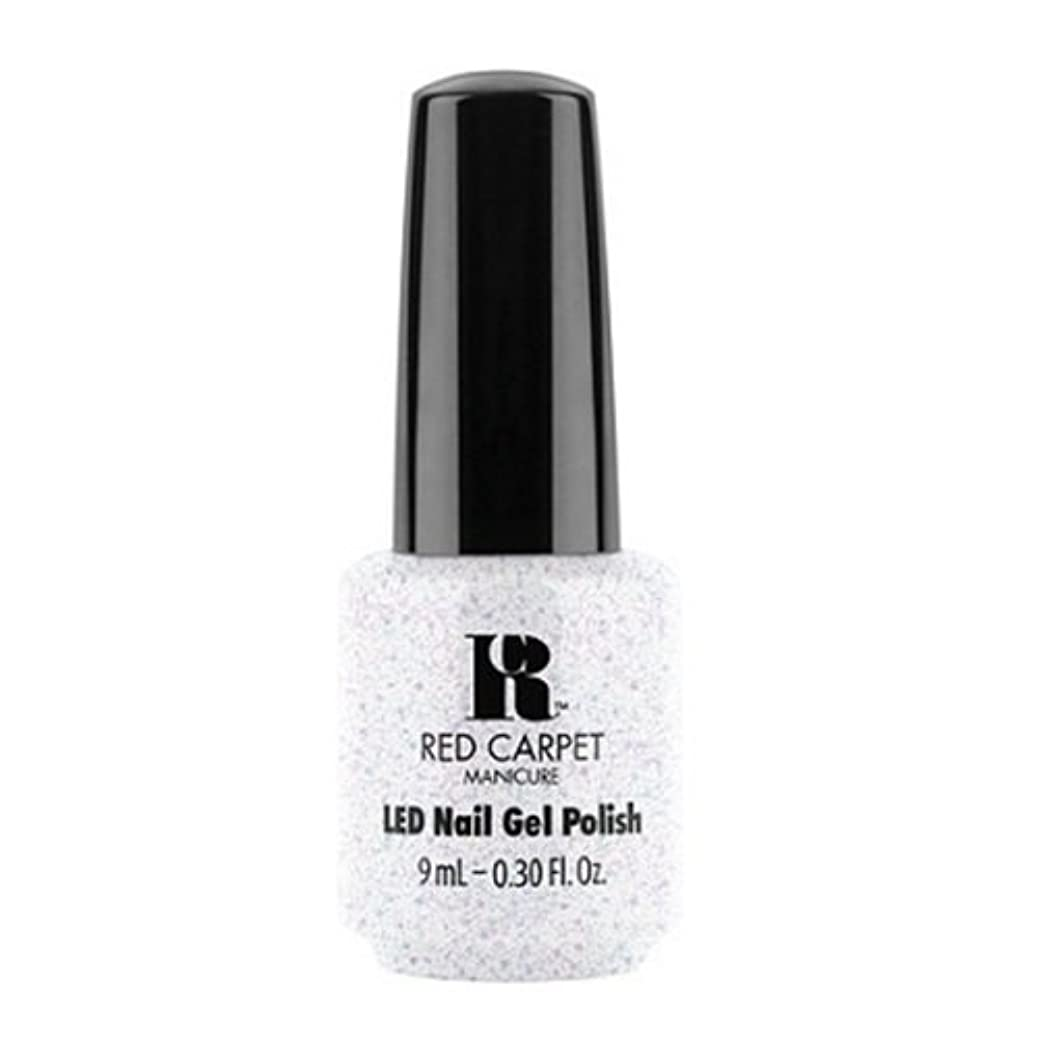 困難ホイップチャネルRed Carpet Manicure - LED Nail Gel Polish - Rising Star - 0.3oz / 9ml