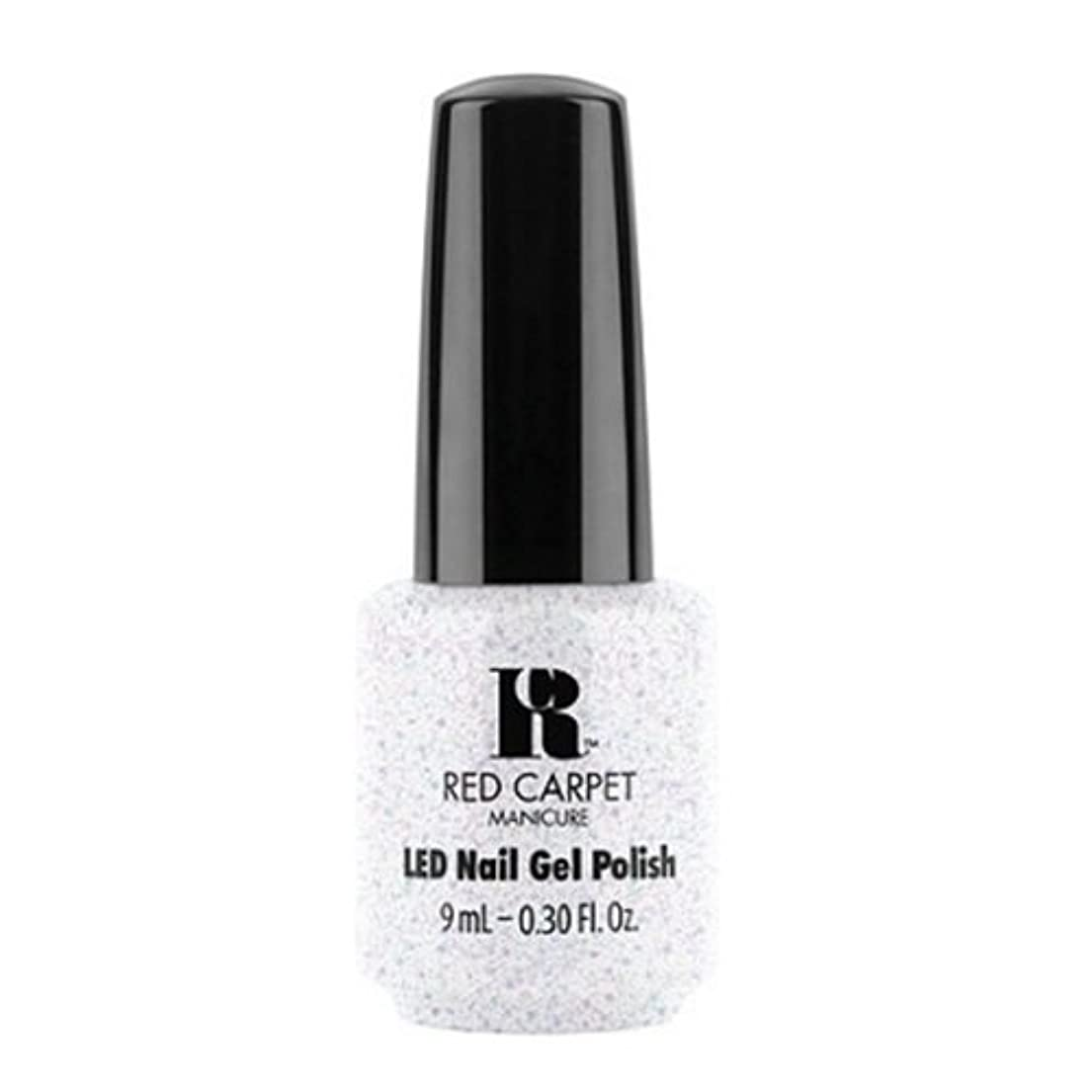 先祖抜粋ルアーRed Carpet Manicure - LED Nail Gel Polish - Rising Star - 0.3oz / 9ml