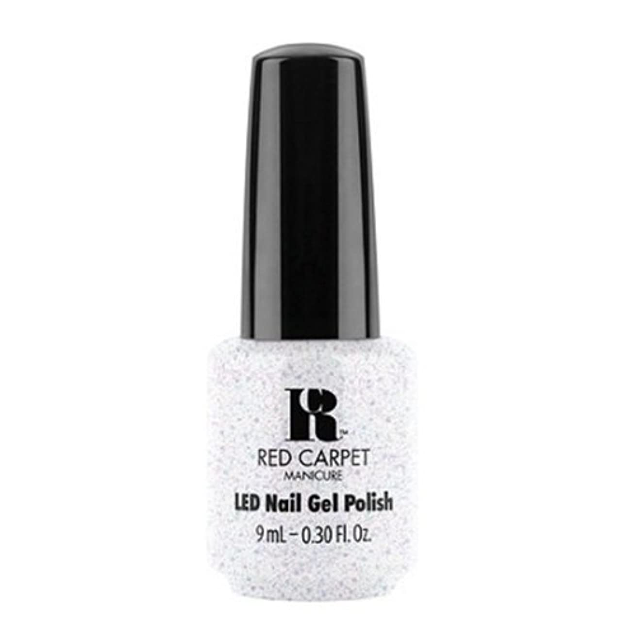 アセンブリ意外ロードハウスRed Carpet Manicure - LED Nail Gel Polish - Rising Star - 0.3oz / 9ml