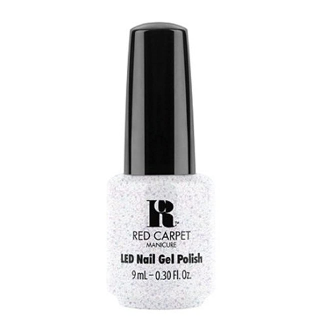 空中破産モーターRed Carpet Manicure - LED Nail Gel Polish - Rising Star - 0.3oz / 9ml