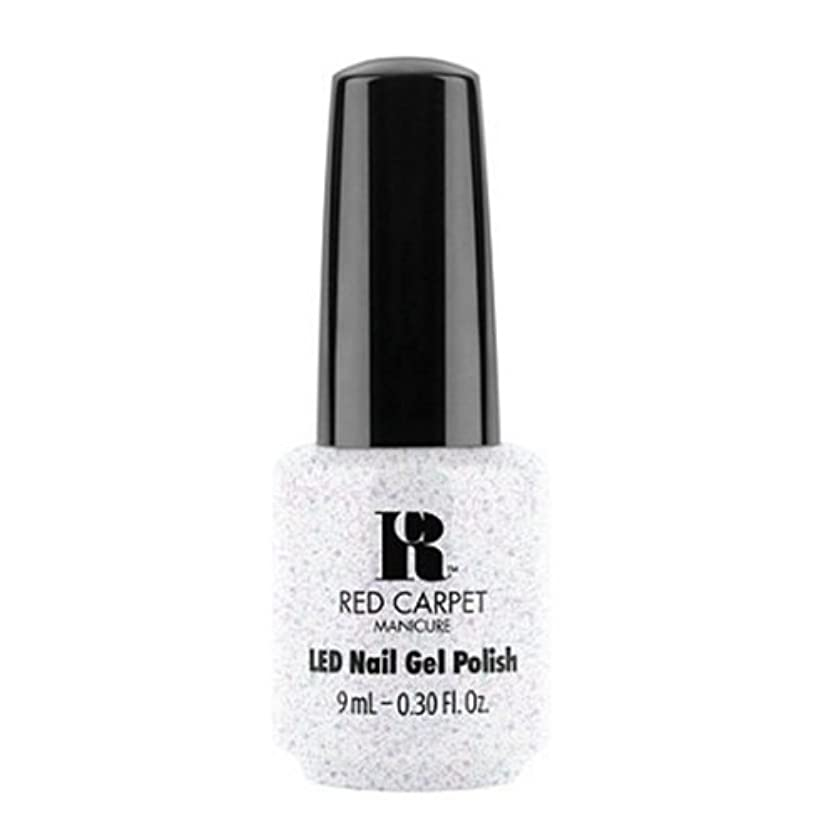コショウ植木動物園Red Carpet Manicure - LED Nail Gel Polish - Rising Star - 0.3oz / 9ml