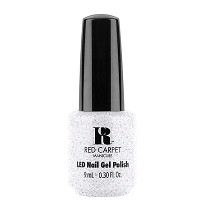 重要性ピッチャー撃退するRed Carpet Manicure - LED Nail Gel Polish - Rising Star - 0.3oz / 9ml