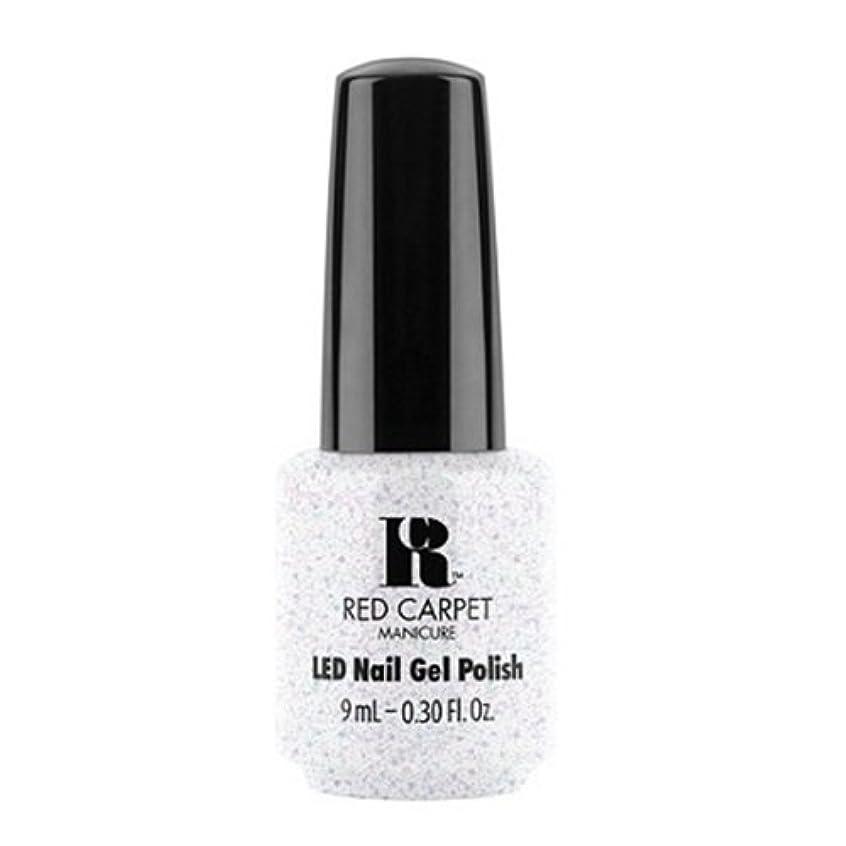 追い払う徒歩で失望Red Carpet Manicure - LED Nail Gel Polish - Rising Star - 0.3oz / 9ml