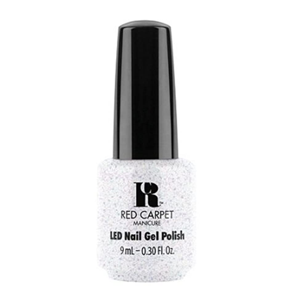 曲球状とRed Carpet Manicure - LED Nail Gel Polish - Rising Star - 0.3oz / 9ml