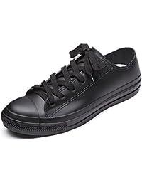 [YUB] レディース レインシューズ 防水雨靴 カジュアル靴 メンズ ローカット レインシューズ 通勤・通学 男女兼用 雨靴 全8色 …