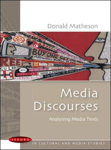 Download Media Discourses (Issues in Cultural and Media Studies (Paperback)) 033521469X