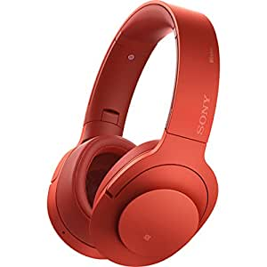 SONY ソニー MDR-100ABNRM h.ear on Wireless NC Red イヤレスノイズキャンセリングステレオヘッドセット [並行輸入品]