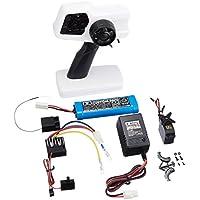 タミヤ RC特別企画商品 ファインスペック2.4G 電動RCドライブセット (ホワイト & ブラック) 47352