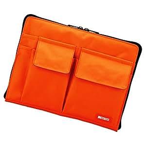 リヒトラブ バッグインバッグ A7553-4 橙 A5