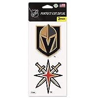 Vegas Golden Knightsデカール4x 4Perfectカットのセット2