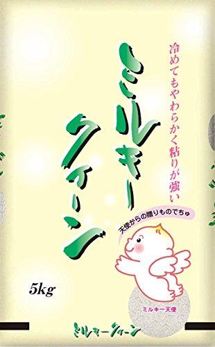 令和1年産 玄米 ミルキークイーン 5kg 千葉県産 (玄米5キロ)