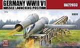 モデルコレクト 1/72 第二次世界大戦 ドイツ V1ミサイル with 発射台 プラモデル MODUA72033