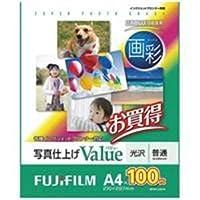 (業務用10セット) 富士フィルム(FUJI) 画彩 写真仕上げValue WPA4100VA A4 100枚 ds-1738285
