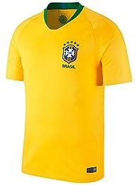 サッカー ワールドカップ 2018 ブラジル代表 ホーム レプリカ ユニフォーム 半袖 メンズ M