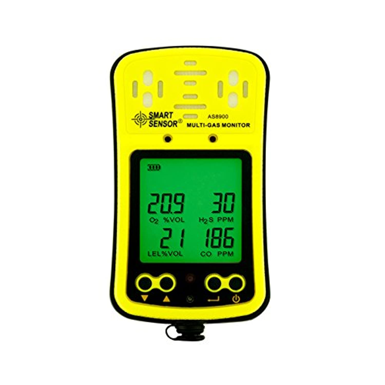 SMART SENSOR ポケッタブル マルチガスモニター マルチ型ガス検知器 AS8900