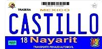 メキシコNayaritフォトライセンスプレートフリーPersonalization onこのプレート