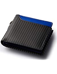 Healthknit (ヘルスニット) 財布 二つ折り財布 大容量 ドイツ製ボンテッドレザー メンズ