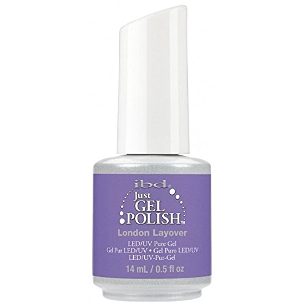 説得力のある荒らす流ibd Just Gel Nail Polish - Summer 2017 Destination Colour Collection - London Layover - 14ml / 0.5oz