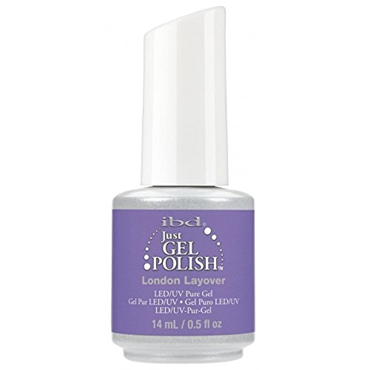 音声学バストスリラーibd Just Gel Nail Polish - Summer 2017 Destination Colour Collection - London Layover - 14ml / 0.5oz
