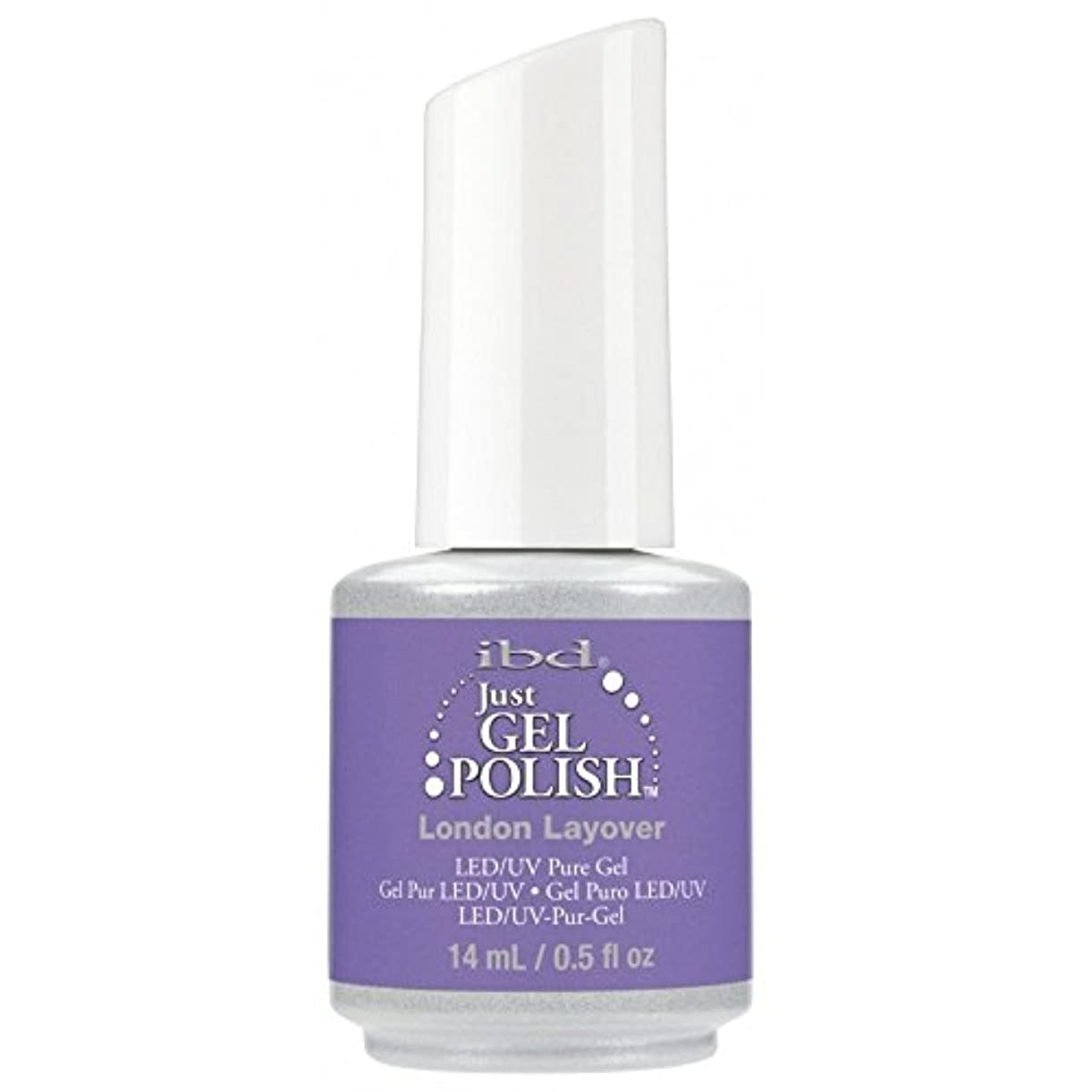 めまい類推ウッズibd Just Gel Nail Polish - Summer 2017 Destination Colour Collection - London Layover - 14ml / 0.5oz