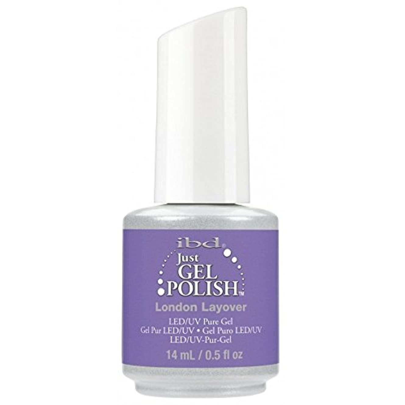 縫うファン今晩ibd Just Gel Nail Polish - Summer 2017 Destination Colour Collection - London Layover - 14ml / 0.5oz