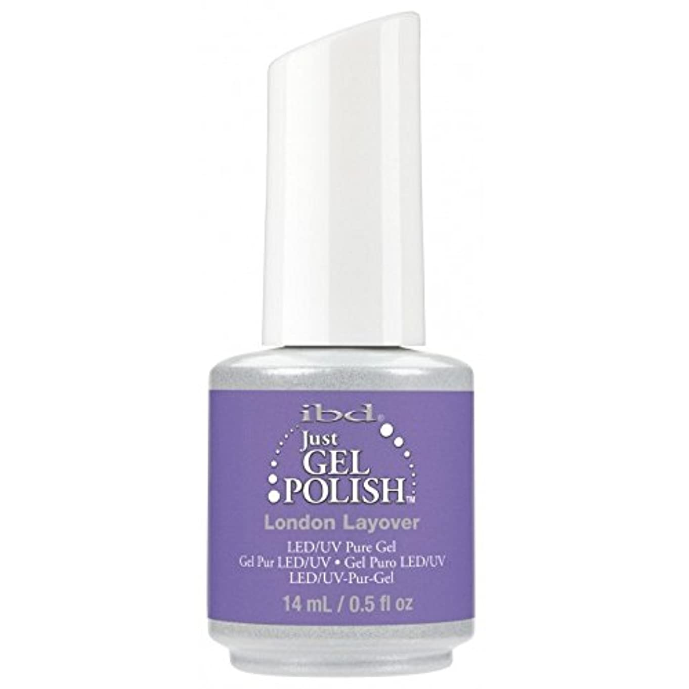 浴デンプシー義務ibd Just Gel Nail Polish - Summer 2017 Destination Colour Collection - London Layover - 14ml / 0.5oz