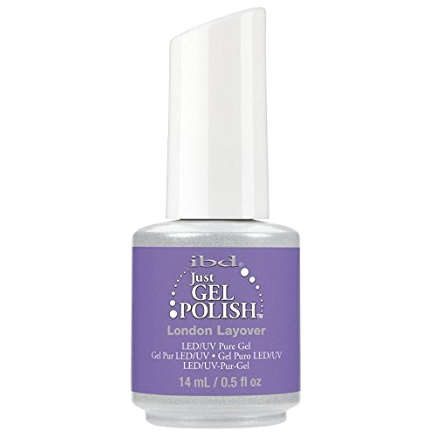 酒嫉妬然としたibd Just Gel Nail Polish - Summer 2017 Destination Colour Collection - London Layover - 14ml / 0.5oz