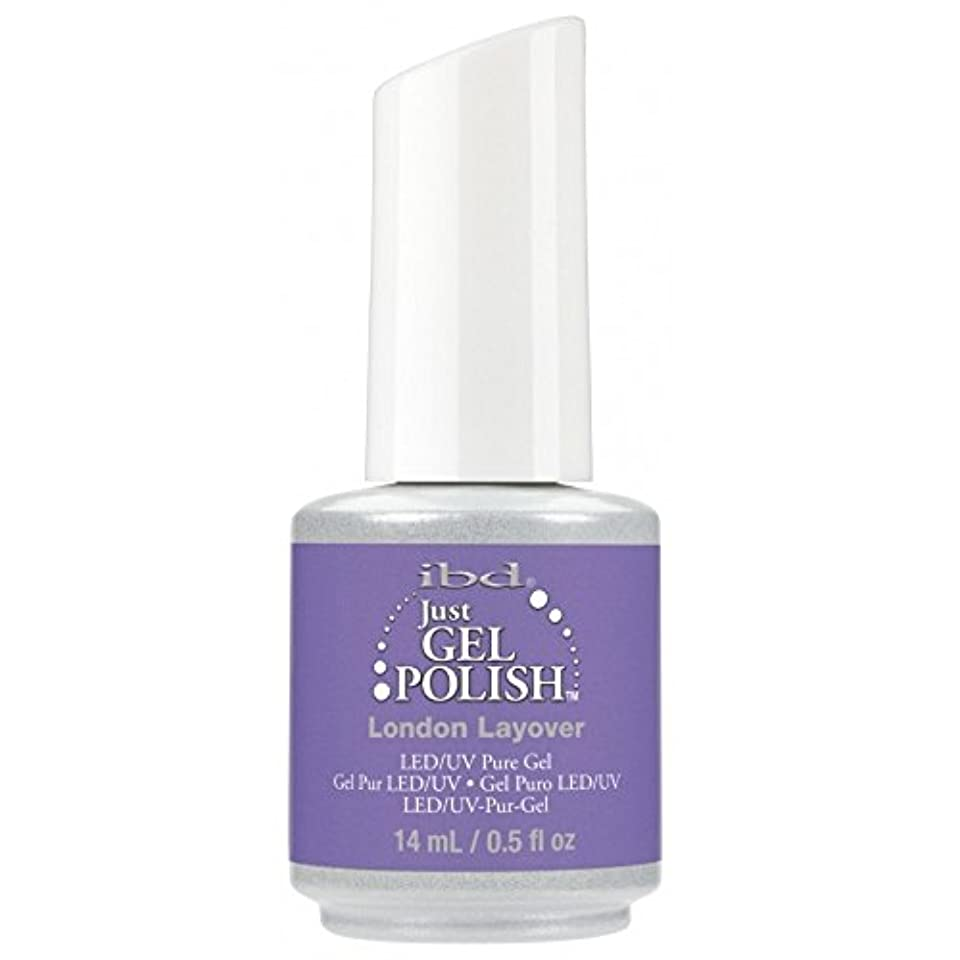 パッド似ている不名誉なibd Just Gel Nail Polish - Summer 2017 Destination Colour Collection - London Layover - 14ml / 0.5oz