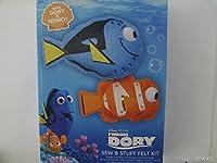 Disney Pixar Finding Dory Sew & Stuff Felt Kit