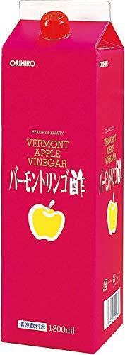 『オリヒロ バーモントリンゴ酢 1800ml』のトップ画像