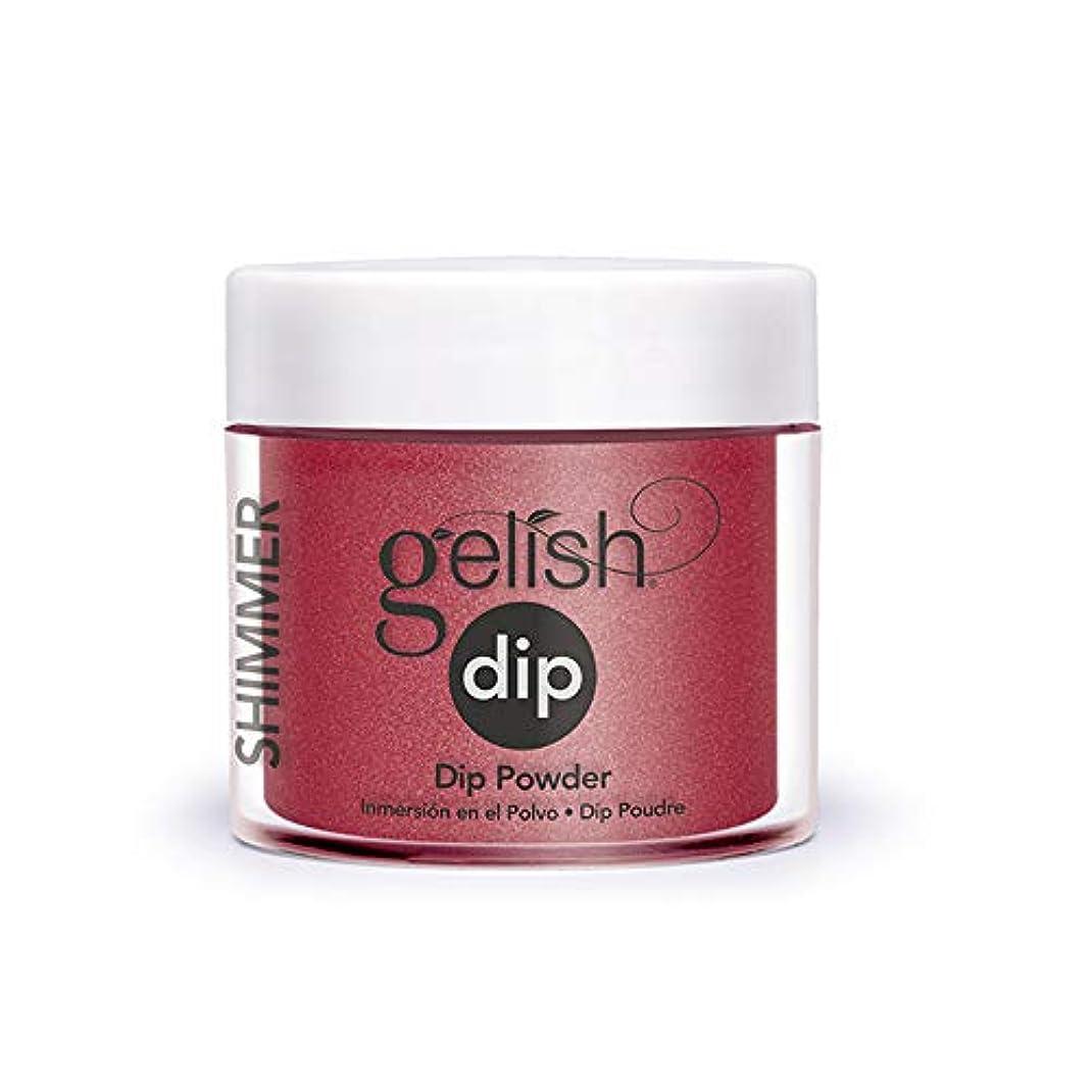 床悪用伝導率Harmony Gelish - Acrylic Dip Powder - Ruby Two-Shoes - 23g / 0.8oz