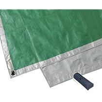モンベル(mont-bell) テント ムーンライト 3 グラウンドシート グレー×ライトグリーン GY/LG 205×160cm 1122317