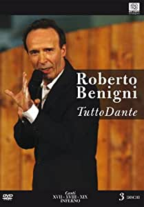 Tutto Dante #07 - Canto XVII-XVIII-IXX Inferno (3 Dvd) [Italian Edition]