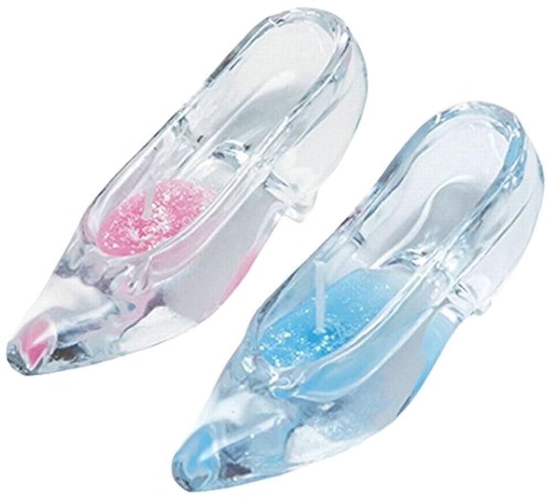 急勾配の学期ファッションガラスの靴セット A7681006